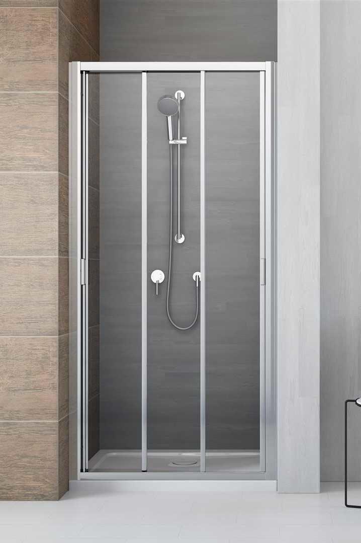 Drzwi wnękowe Radaway Evo DW 105 cm, szkło przejrzyste wys. 200 cm, 335105-01-01