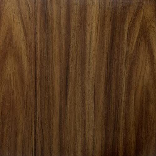 Venilia 53405 folia samoprzylepna, imitacja drewna, orzech, folia dekoracyjna, do mebli, tapet, folia samoprzylepna, PCW, bez ftalanów, 45 cm x 1,5 m