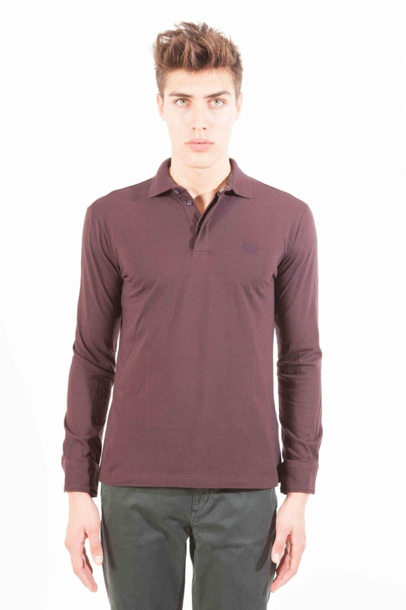 Koszulka polo FRED PERRY z długim rękawem dla mężczyzn