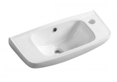 Mała umywalka 51x22 cm podwieszana,biała