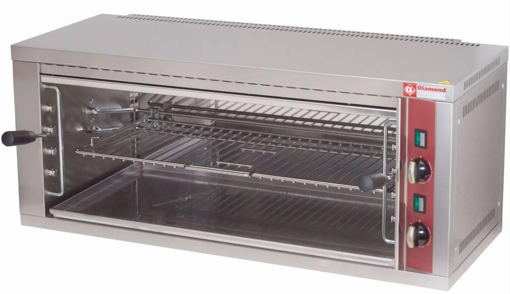Salamander elektryczny z regulowaną kratką 4400W 880x350x(H)400mm