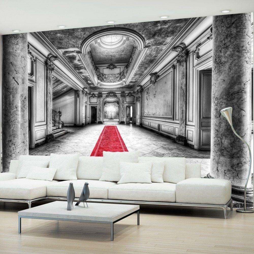 Fototapeta - tajemnica marmuru - czarno-biała