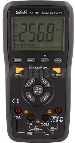 Multimetr cyfrowy AXIOMET AX-595 LCD (5999), bargraf 3x/s -20 1000 C