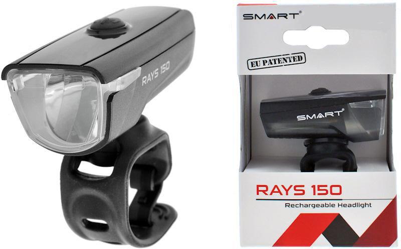 Lampa rowerowa przód Smart BL192W Rays 150 LM. Cree USB