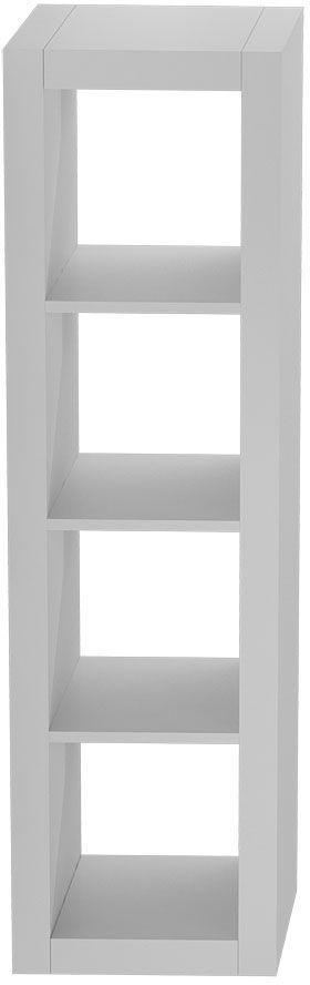 Regał otwarty słupek Idris 6X - biały