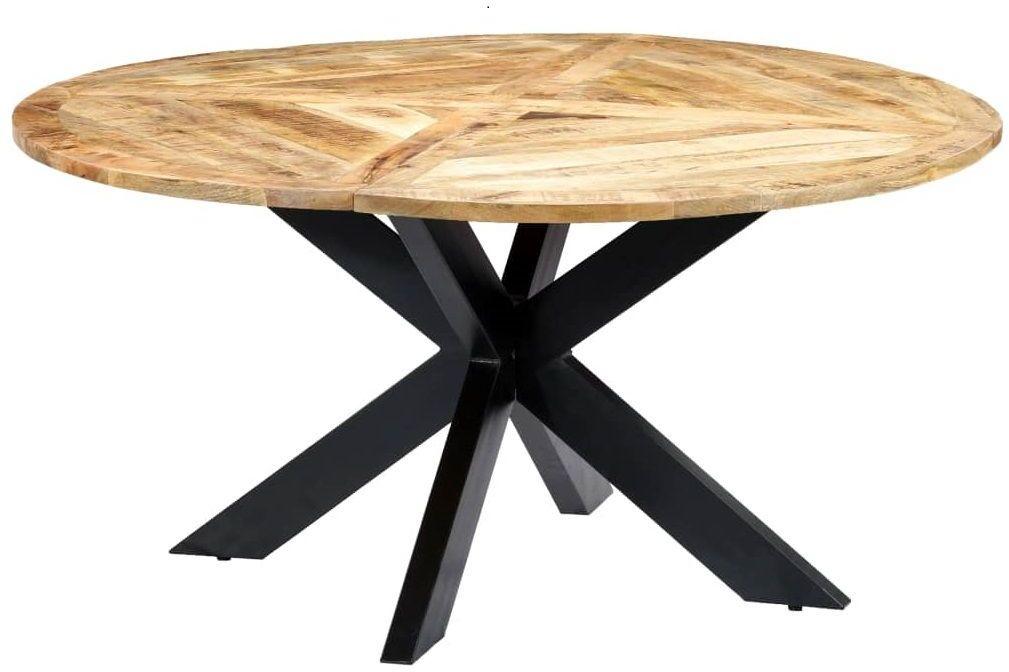 Okrągły stół z drewna mango  Gebel 3X