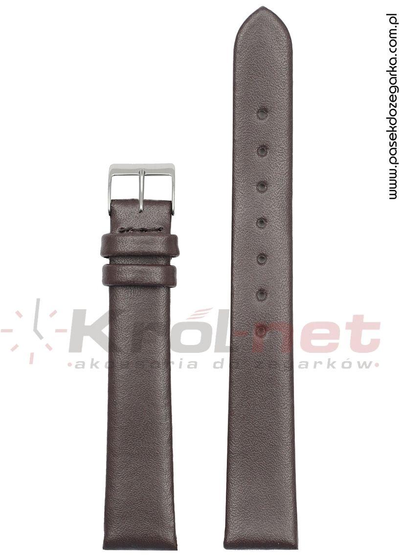Pasek TK063BR/14 - brązowy