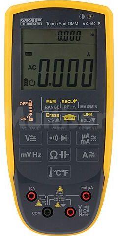 Multimetr cyfrowy AXIOMET AX-160IP LCD (6000), podwójny, podświetlany 3x/s IP65