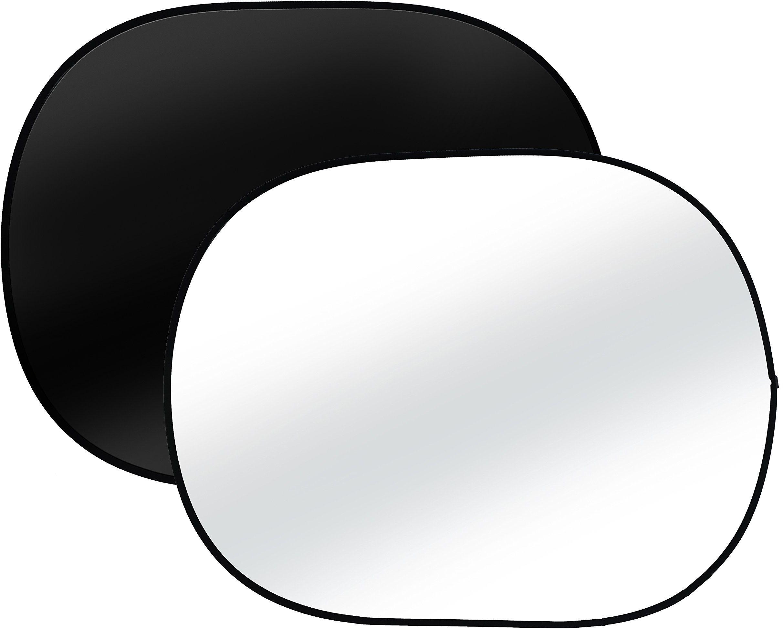 Bresser studio fotograficzne TR-3 składane tło dwustronne 140 x 190 cm czarne/białe
