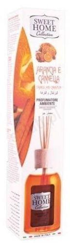 Sweet Home Pomarańcza i cynamon - Odświeżacz powietrza z patyczkami (100 ml)