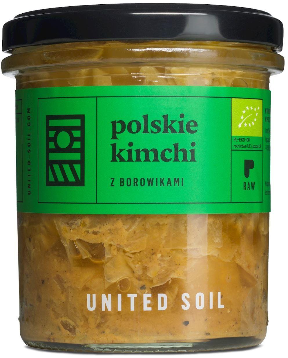 Polskie kimchi z borowikami bio 290 g - united soil