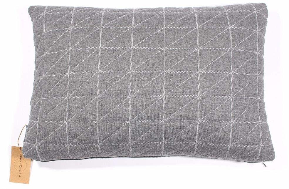 Dekoracyjna poduszka kwadratowa 40 x 60 cm z wypełnieniem do domu z bawełny do salonu na sofę do sypialni sl3002