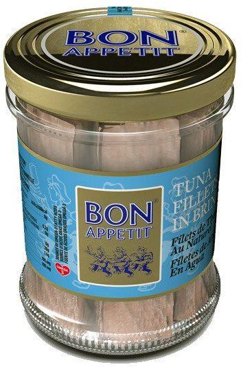 Filety z tuńczyka w sosie własnym 200g Bon Appetit