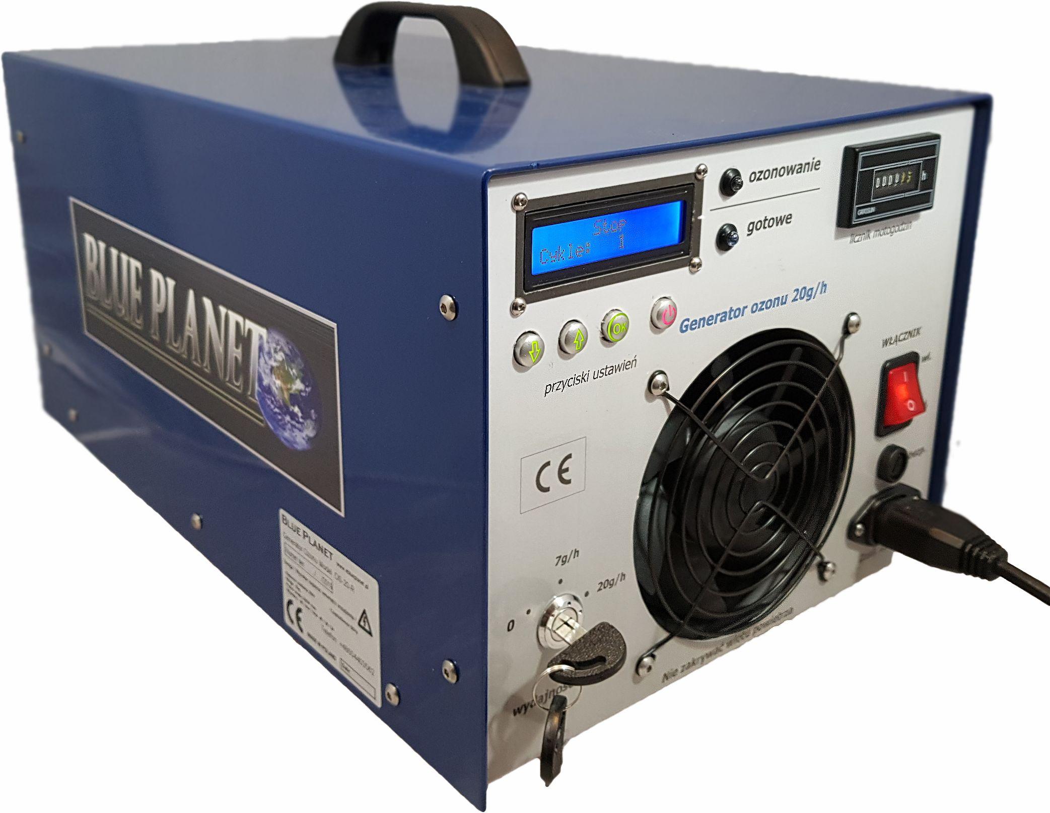 Generator ozonu 46g/h ozonator DS 46 , ozonator profesjonalny, na koronawirusa