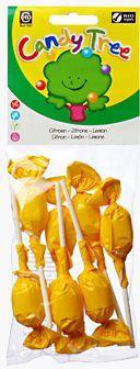 Lizaki okrągłe o smaku cytrynowym bezglutenowe bio 7 x 10 g - candy tree
