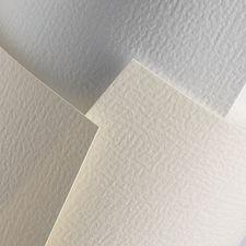 Karton ozdobny A4 Standard Czerpany biały 20 szt