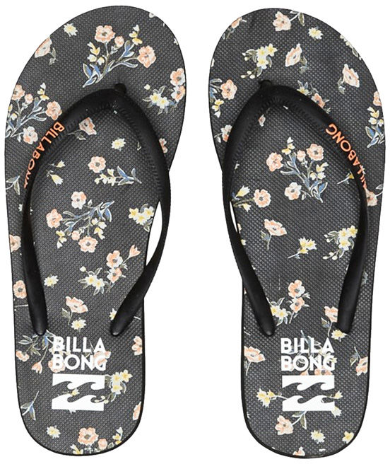 Billabong DAMA BLACK FLORAL japonki