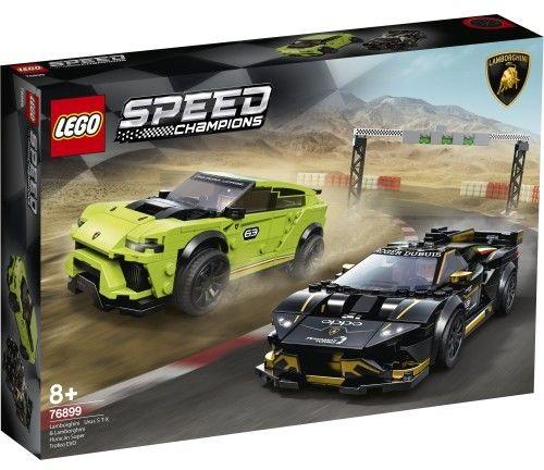 LEGO Speed Champions - Lamborghini Urus ST-X i Lamborghini Huracán Super Trofeo EVO 76899