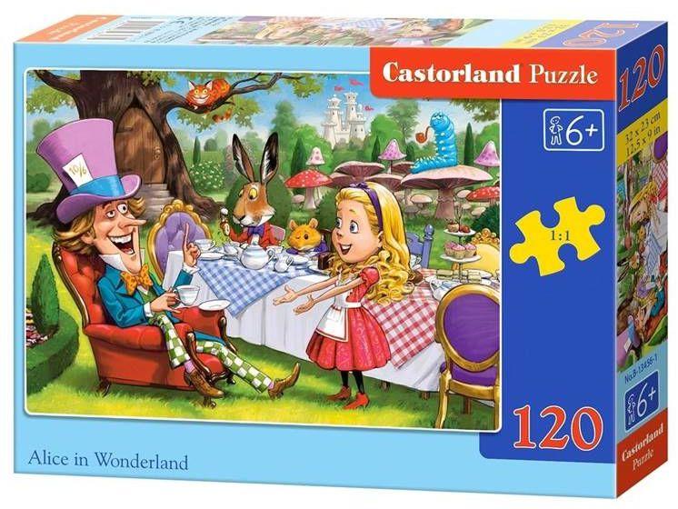 Puzzle 120 Alice in Wonderland CASTOR - Castorland