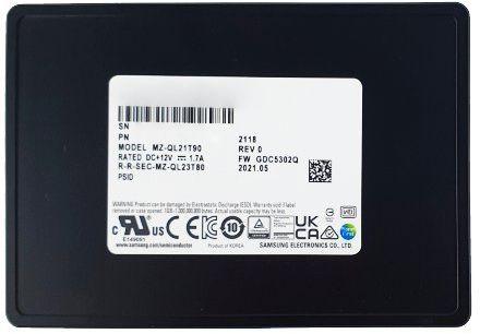Dysk SSD Samsung PM9A3 1.92TB U.2 NVMe PCIe Gen4 x4 MZQL21T9HCJR-00A07