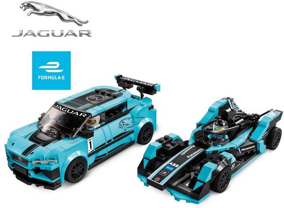 LEGO Speed Champions - Formula E Panasonic Jaguar Racing GEN2 car i Jaguar I-PACE eTROPHY 76898
