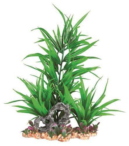 Sztuczna roślina w żwirku, 18 cm
