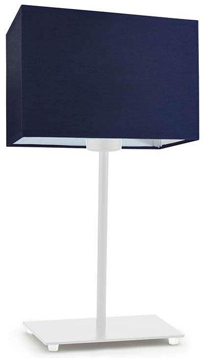 Nowoczesna lampka nocna na białym stelażu - EX938-Amalfo - 18 kolorów