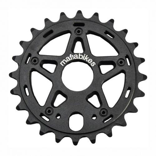 Mafiabikes Gully zębatka BMX MTB Dirt Wheelie Black