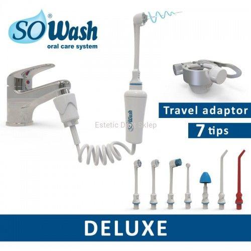 SoWash zestaw Deluxe - doustny irygator