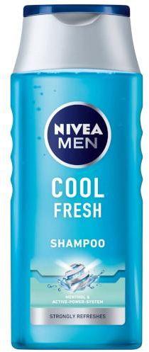 Nivea Men Cool Fresh szampon do włosów odświeżający 400 ml