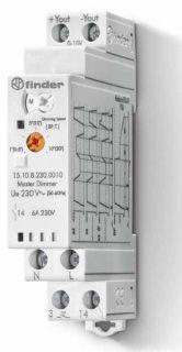 Elektroniczny przekaźnik ściemniacz Finder 15.10.8.230.0010 Elektroniczny przekaźnik ściemniacz Finder 15.10.8.230.0010
