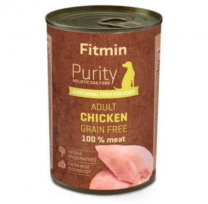 Fitmin Dog Purity tin Chicken 400 g