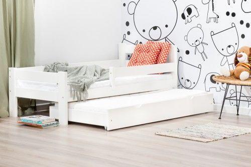 Łóżko 160x80cm Mr Toucan podwójne kolor biały