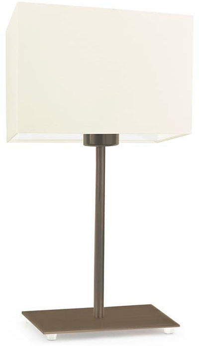 Lampka nocna z abażurem na złotym stelażu - EX943-Amalfo - 18 kolorów