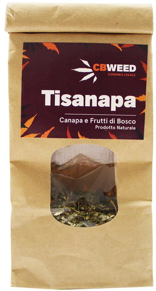 Tisanapa - Organiczna herbata konopna z leśnymi owocami 25g