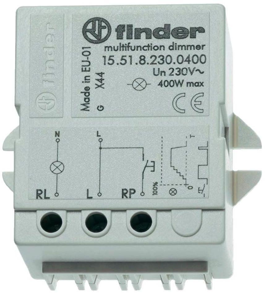 Elektroniczny przekaźnik ściemniacz Finder 15.51.8.230.0404 Elektroniczny przekaźnik ściemniacz Finder 15.51.8.230.0404