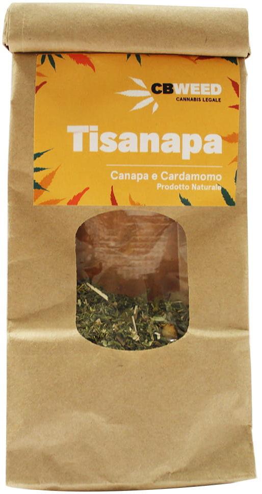 Tisanapa - Organiczna herbata konopna z kardamonem 25g