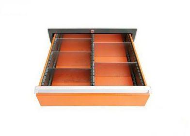Wkład szuflady typ A do szuflad w wózkach WWT