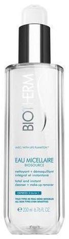 Biotherm Biosource Eau Micellaire oczyszczający płyn micelarny do wszystkich rodzajów skóry, też wrażliwej 200 ml