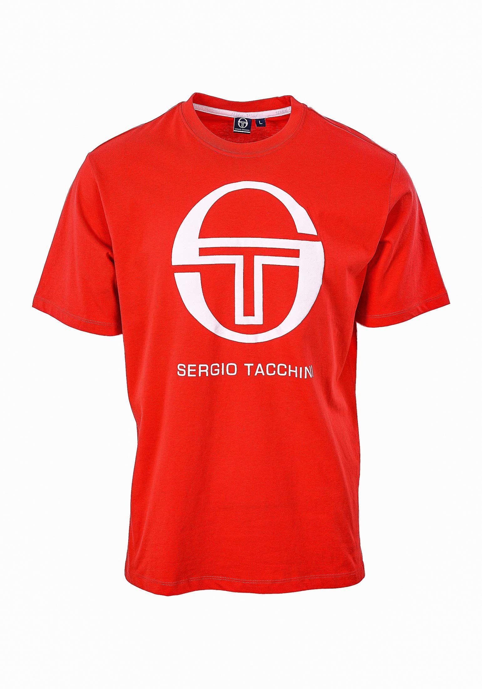 Sergio Tacchini T-shirt chłopięcy Club Tech, granatowy/biały, LJ