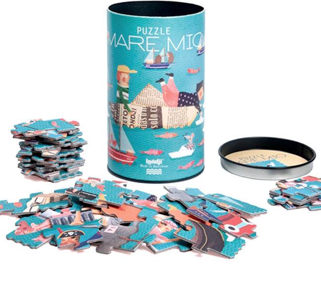 Londji - Puzzle dla Dzieci - Morska Przygoda Mare mio