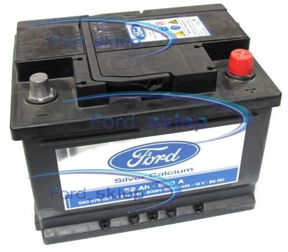 akumulator Ford SLI - 52AH 500A / 1935547