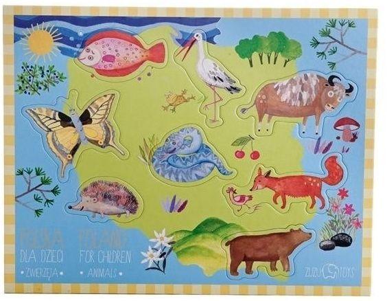 Polska dla dzieci - Zwierzęta - Zuzu Toys