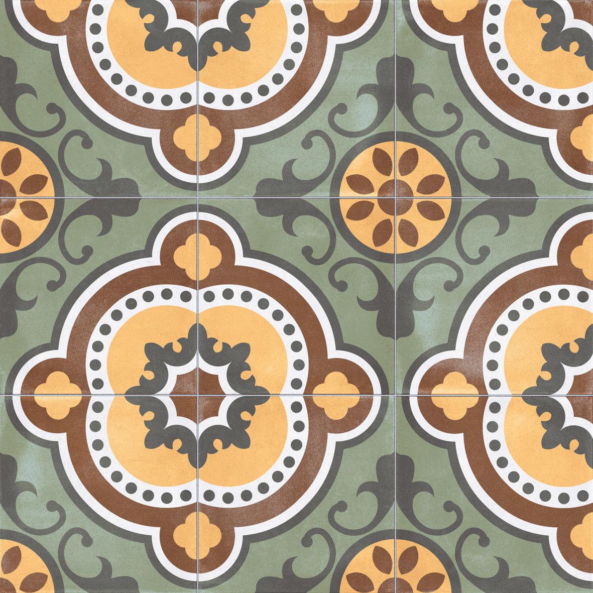 Bondi Puebla Natural 59,2x59,2 płytki patchwork
