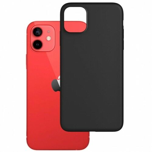 Etui 3mk Matt Case iPhone 12 / 12 Pro, czarne