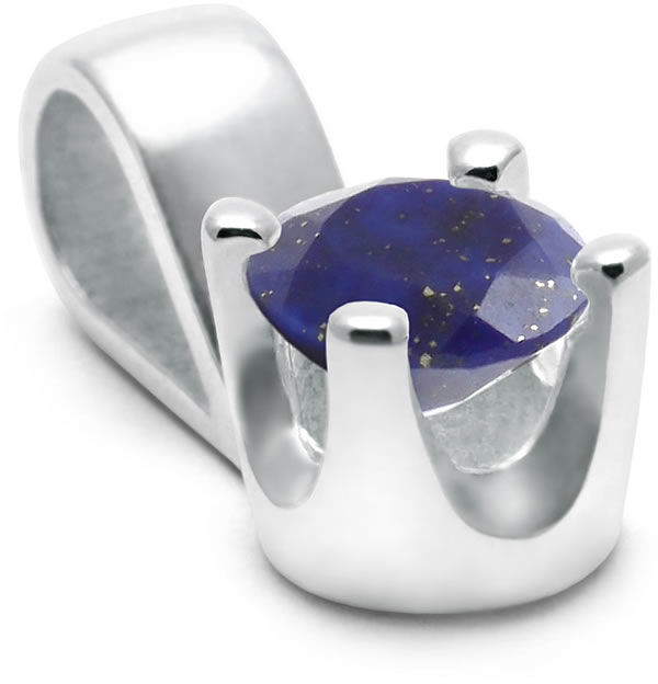 Kuźnia Srebra - Zawieszka srebrna, Lapis Lazuli, 1g, model