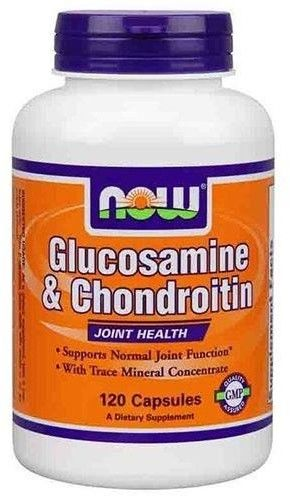 NOW Glucosamine & Chondroitin Sulfate Extra Strong - 60tabs