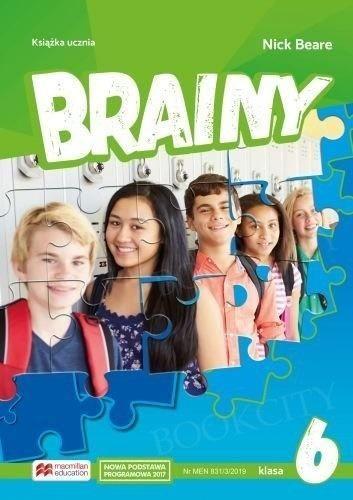 Brainy 6 SB MACMILLAN ZAKŁADKA DO KSIĄŻEK GRATIS DO KAŻDEGO ZAMÓWIENIA