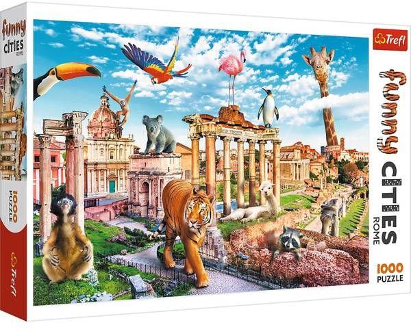 Puzzle 1000 Dziki Rzym 10600 - Trefl PAP