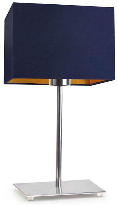 Lampka nocna z włącznikiem na chromowanym stelażu - EX947-Amalfes - 5 kolorów